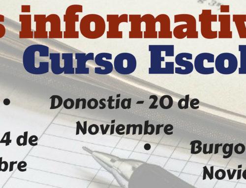 Reuniones informativas – Curso Escolar 2019/2020