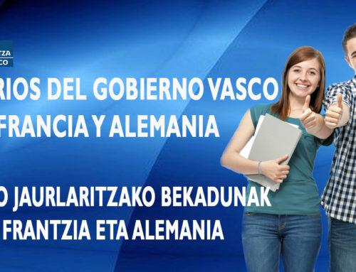 BECAS DEL GOBIERNO VASCO