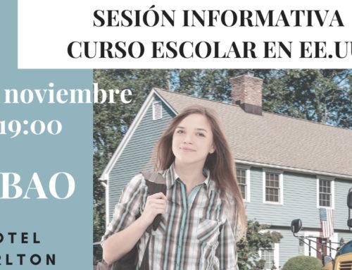 Sesion  informativa  Curso  Escolar  –  BILBAO