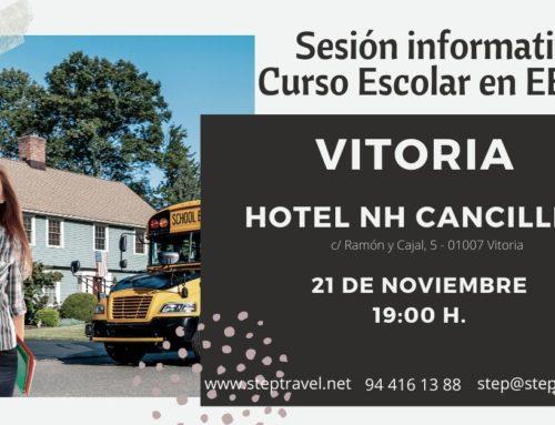 Sesión  informativa  Curso  Escolar  –  VITORIA